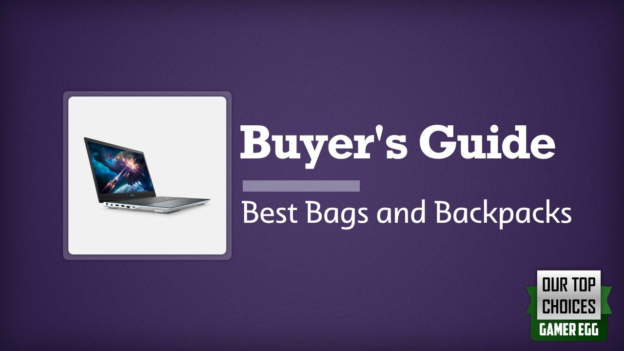 Dell G3 15 3500: Best Bags and Backpacks in 2020