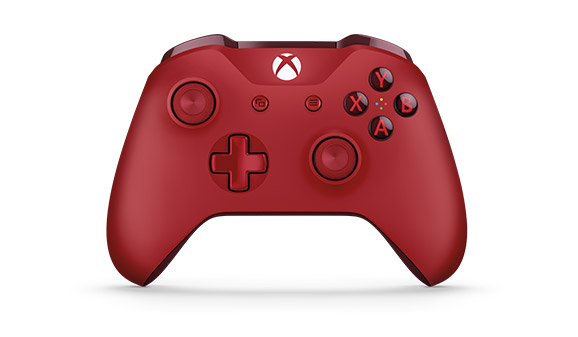 Xbox Wireless Controller - Red front view