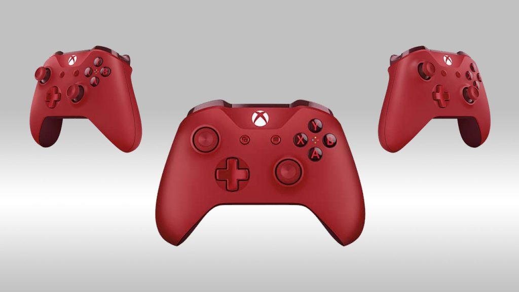 Red Xbox One Controller Go On Sale by January 10 2017