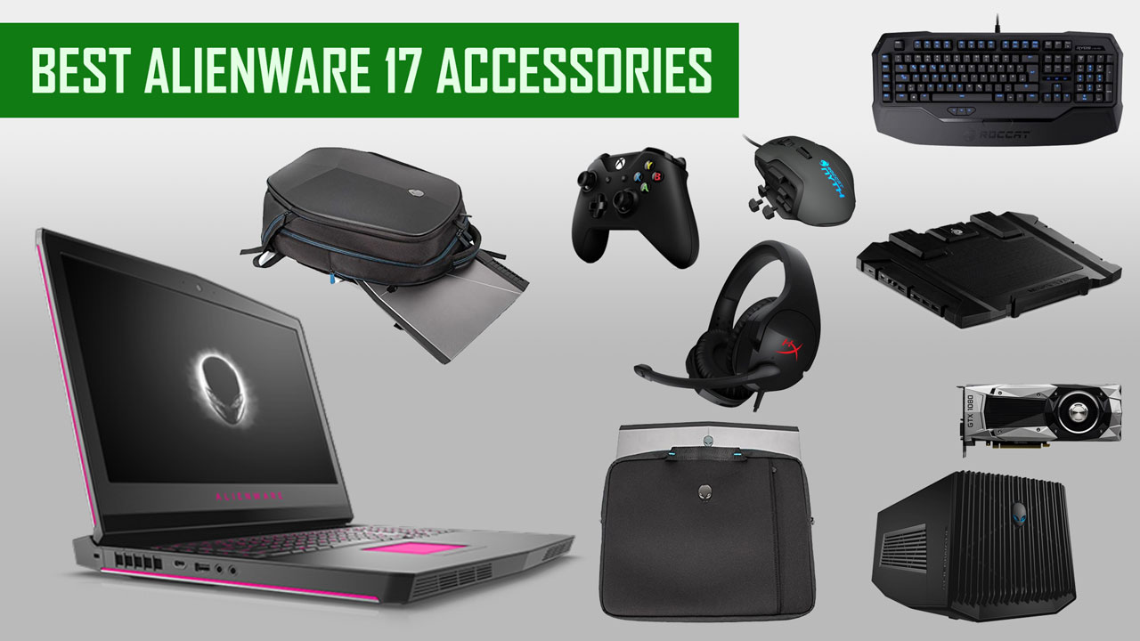 Alienware 17 Accessories