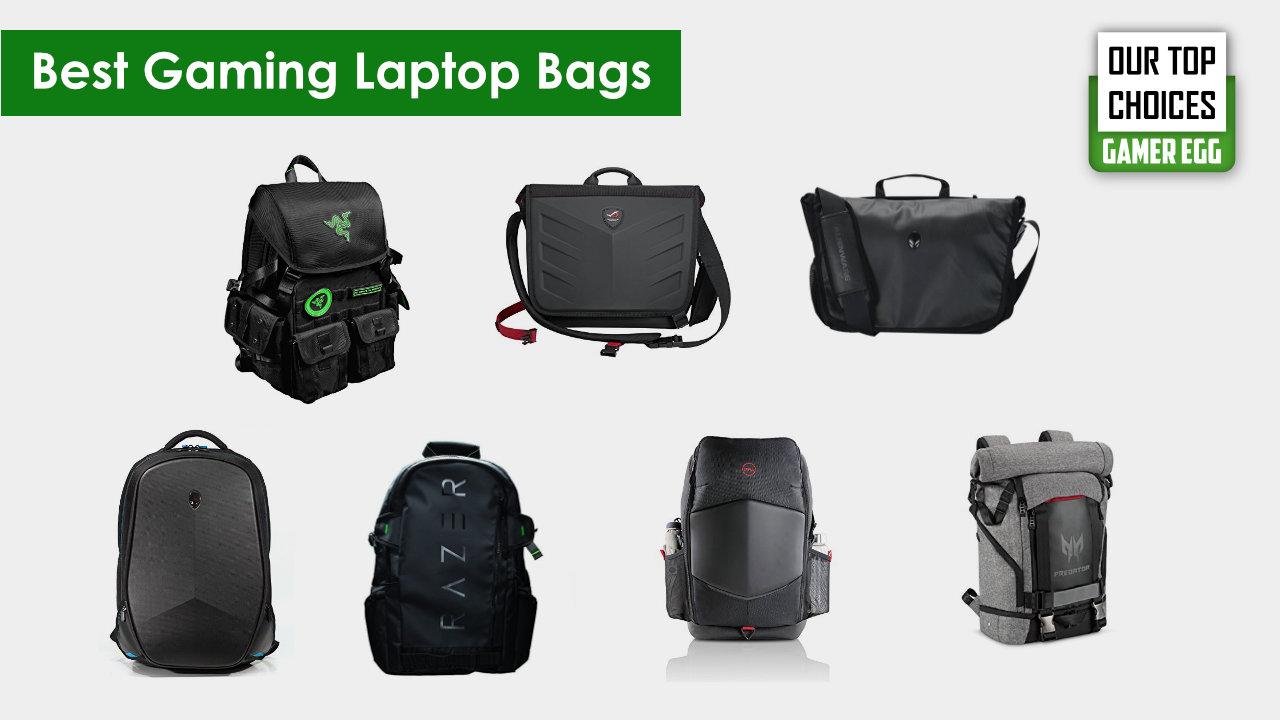 Best Laptop Bags for Gamer