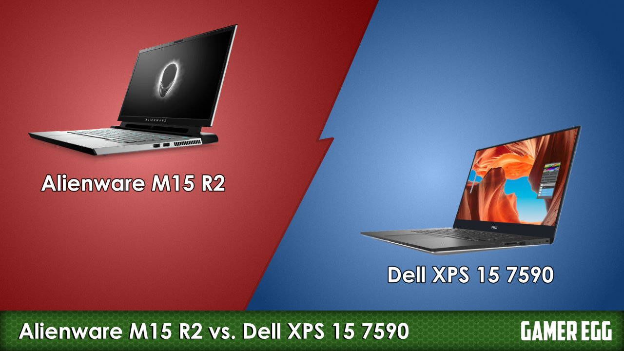Alienware M15 R2 vs. Dell XPS 15 7590