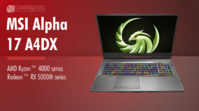 MSI Alpha 17 A4DX (AMD-2020): Specs – Detailed Specifications