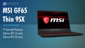MSI GF65 Thin 9SX (2019): Specs – Detailed Specifications
