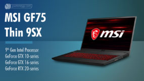MSI GF75 Thin 9SX (2019): Specs – Detailed Specifications