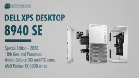 Dell XPS Desktop 8940 Special Edition (2020): Specs – Detailed Specifications